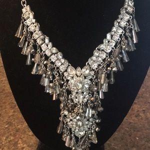 Jewelry - Stunning Rhinestone Art Deco Necklace